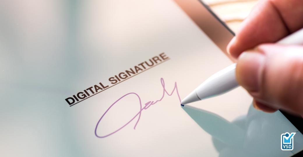Gebruik van ValidSign voor digitaal ondertekenen van documenten